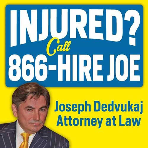 Injured? Call 866-hire joe